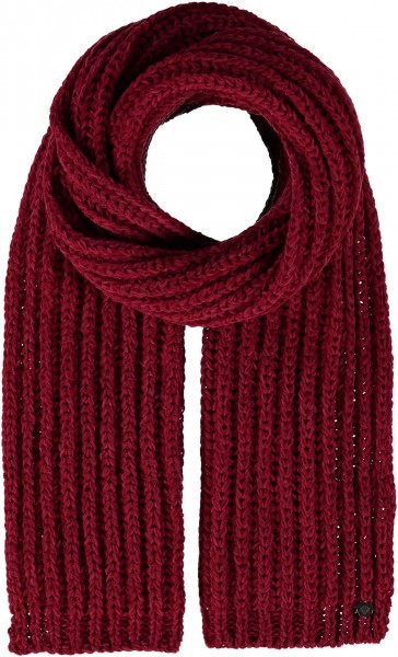 Knitted scarf made of pure polyacrylic