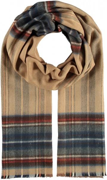 THINK Karierter Cashmink®-Schal - Made in Germany