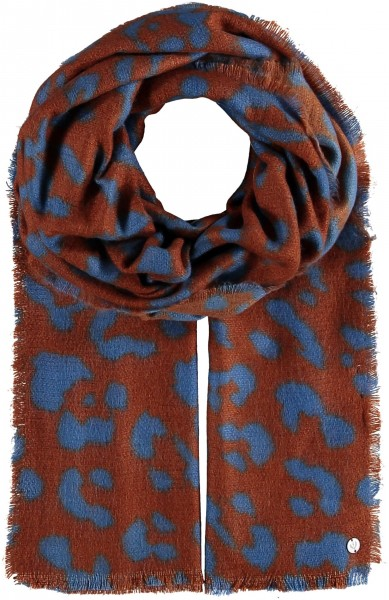 THINK Stole with Animal Print