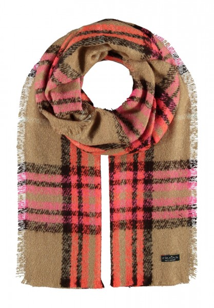 Cashmink® stole with FRAAS pattern - Made in Germany