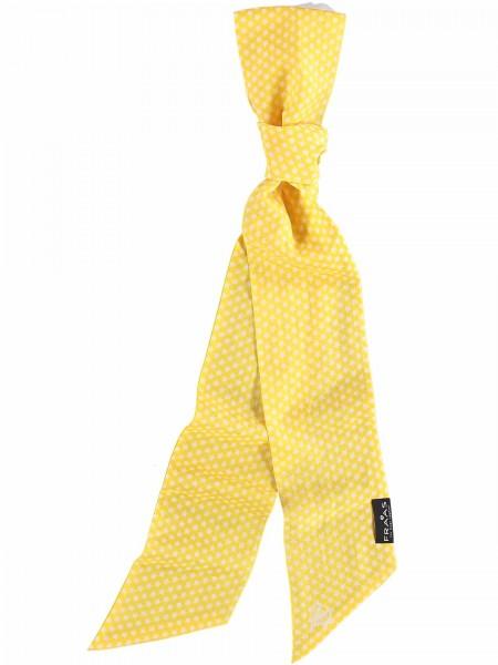 Schal mit Sterne-Print in Baumwollmischung