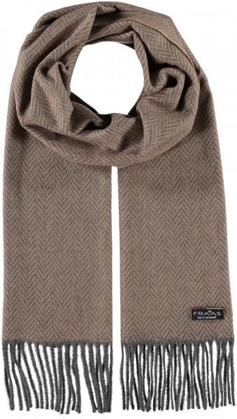 Cashmink®-Schal mit Fransen - Made in Germany