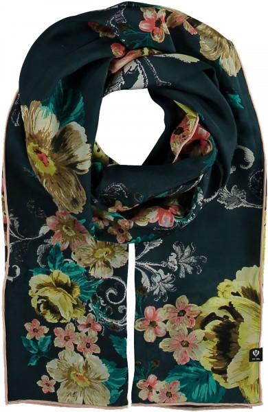 Schal mit floralem Print