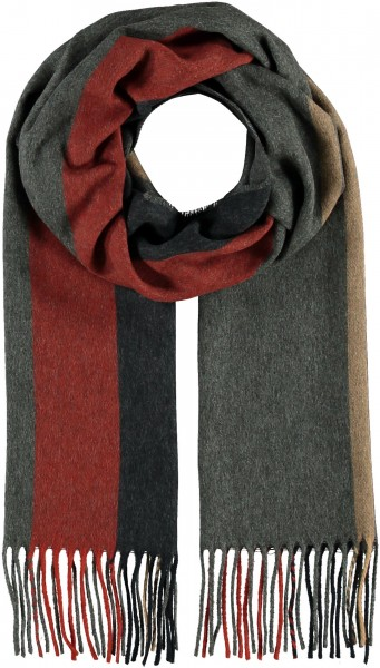 Gestreifter Cashmink®-Schal - Made in Germany