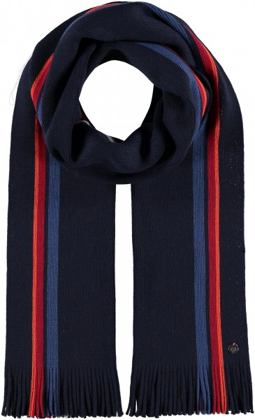 Pure wool scarf in stripes design