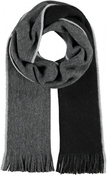 Zweifarbiger Wollschal - Made in Germany
